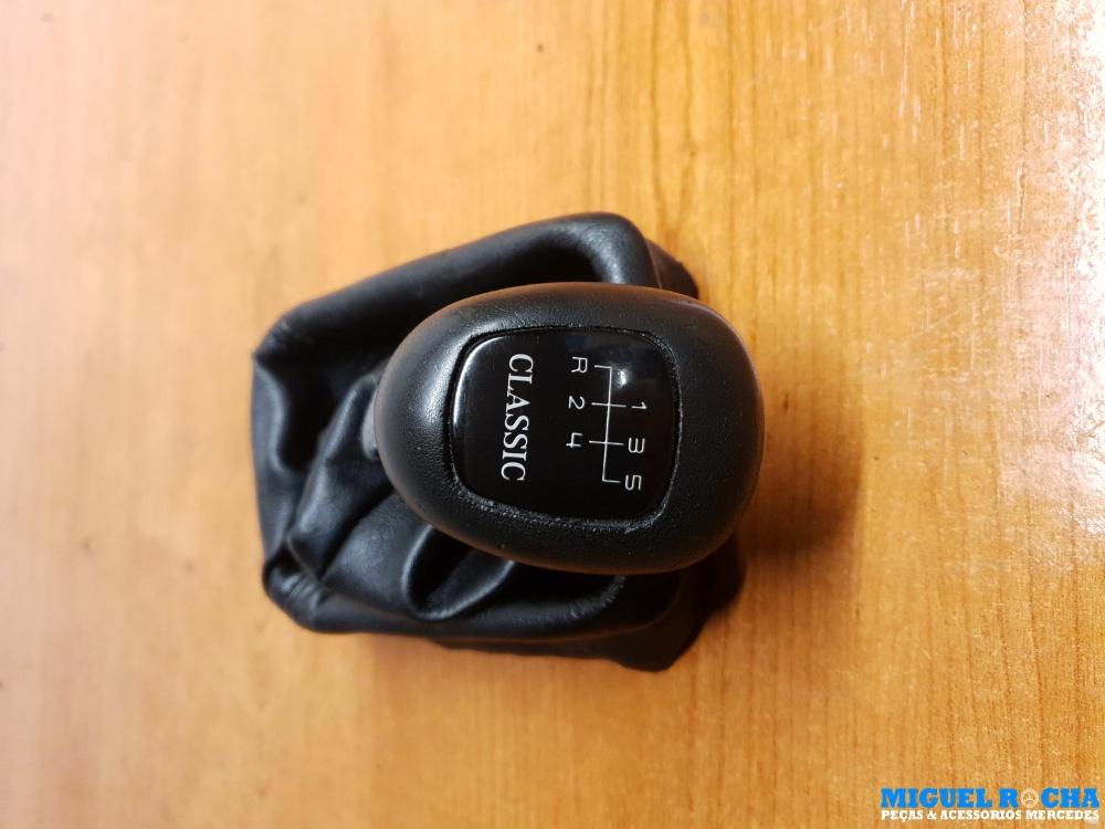 Manete / Alavanca completa com fole caixa manual de 5 velocidades Mercedes W202 / W210 Classic