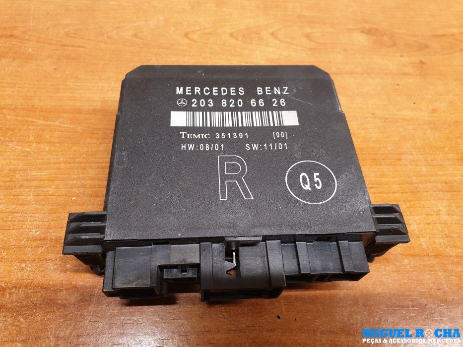 Modulo porta traseira direita Mercedes W203 / S203