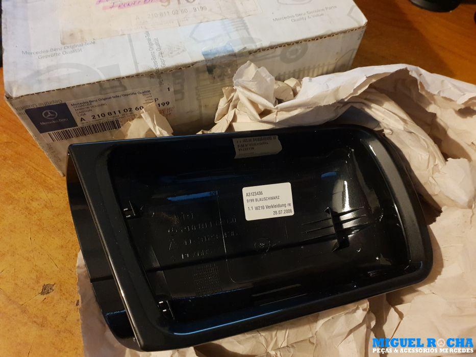 Capa retrovisor direito Mercedes W202 / W210 - Original nova em caixa