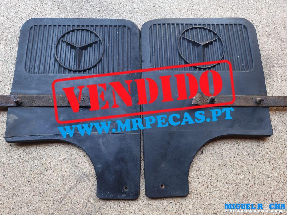 Palas das rodas traseiras Mercedes 190