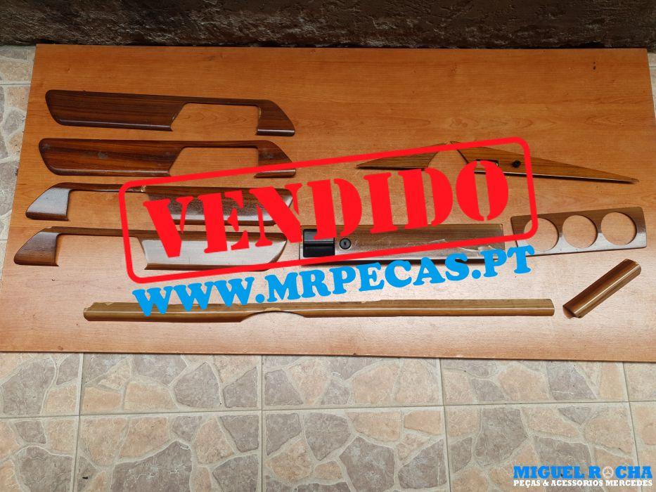Conjunto de madeiras tablier / portas Mercedes 190 ( W201 )