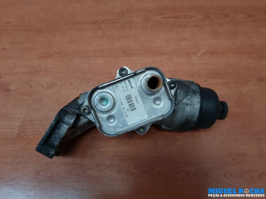 Copo do filtro do óleo + permutador Mercedes A170Cdi