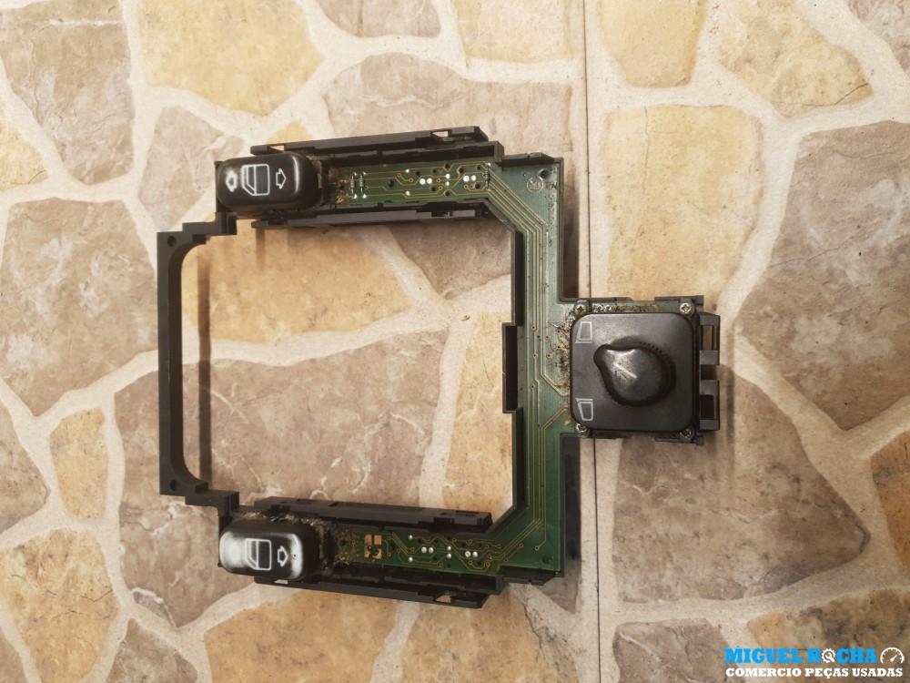 Modulo de botões dos vidros e retrovisor eletrico Mercedes W202