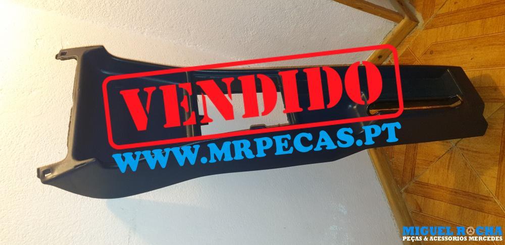 Consola do travão de mão em azul Mercedes 190